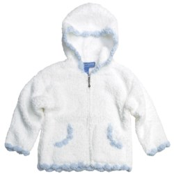Colorado Clothing Scalloped Trim Hooded Jacket- Full Zip (For Toddler and Little Girls)