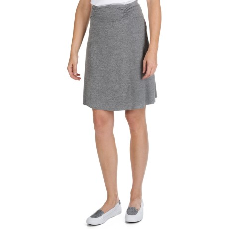 SoyBu Wanderlust Skirt - Stretch Cotton Chamois (For Women)