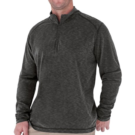 Royal Robbins Desert Knit Zip Neck Shirt - Long Sleeve (For Men)