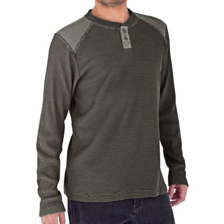 Royal Robbins Winter Waffle Henley Shirt - UPF 50+, Long Sleeve (For Men)