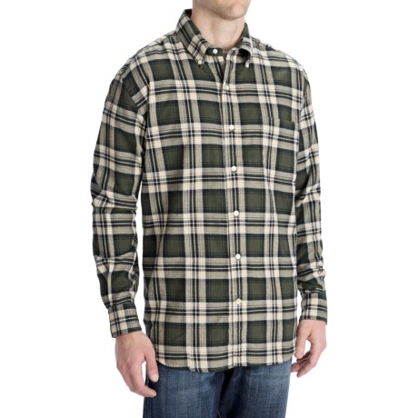 Options Attic Flannel Plaid Shirt - Long Sleeve (For Men)
