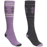 Lorpen Ski/Snowboard Socks - 2-Pack, Merino Wool, Heavyweight (For Women)