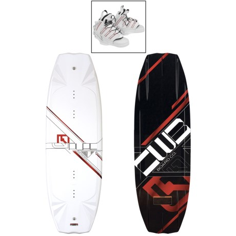 CWB Board Co. Pure Wakeboard - Edge Bindings