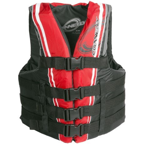 Connelly 4-Buckle Promo Life Vest - USCG-Approved, Type III (For Men and Women)