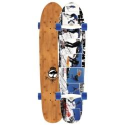 "Arbor Bamboo Hybrid Complete Longboard - 9.25x38"""