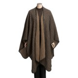 Weave of the Irish Ruana Cape - Reversible (For Women)