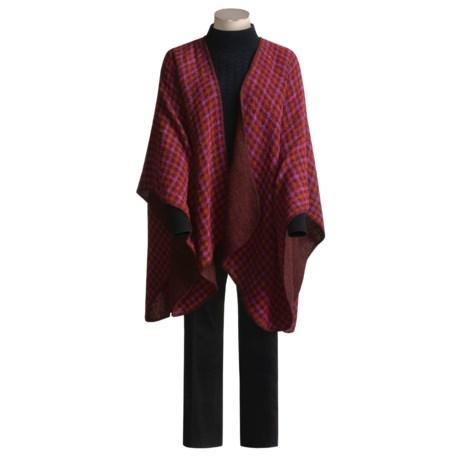 Weave of the Irish Ruana Cape - Reversible (For Women)