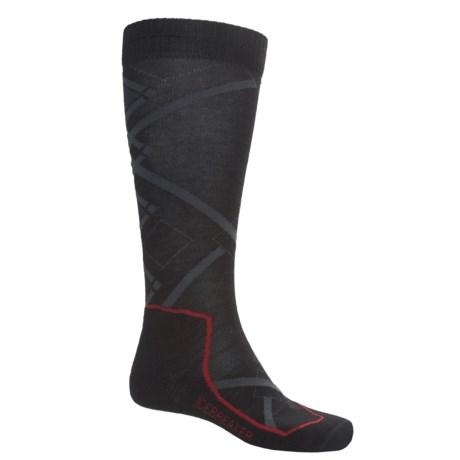 Icebreaker Ski+ Lite Socks - Merino Wool, Over-the-Calf (For Men and Women)