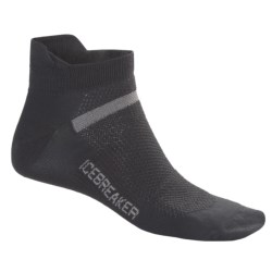 Icebreaker Multisport Superlite Micro Socks - Merino Wool, Lightweight, Below-the-Ankle (For Men and Women)