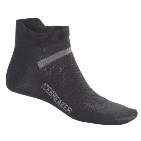 Icebreaker Multisport Superlite Micro Socks - Merino Wool, Lightweight, Below-the-Ankle (For Men and Women)