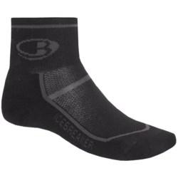 Icebreaker Multi-Sport Lite Mini Socks - Merino Wool, Quarter-Crew (For Men)