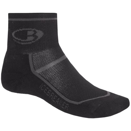Icebreaker Multi-Sport Lite Mini Socks - Merino Wool, Quarter-Crew (For Men)