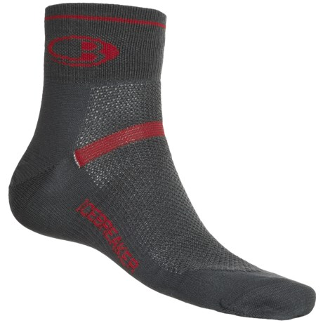 Icebreaker GT Multisport Superlite Mini Socks - Merino Wool, Quarter-Crew (For Men)