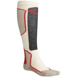 Icebreaker Ski+ Lite Socks - Merino Wool, Over-the-Calf, Lightweight (For Men)
