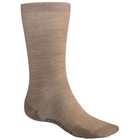 Icebreaker City Ultralite Crew Socks  - Merino Wool (For Men)
