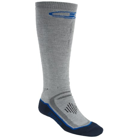 Icebreaker Ski Mid Socks - Merino Wool, Over-the-Calf, Midweight (For Men)