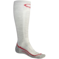 Icebreaker Ski Ultralite Socks - Merino Wool, Over-the-Calf, Lightweight (For Men)