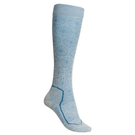 Icebreaker Ski Lite Socks - Merino Wool, Over-the-Calf (For Women)