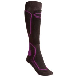 Icebreaker Ski + Mid Socks - Merino Wool, Over-the-Calf (For Women)