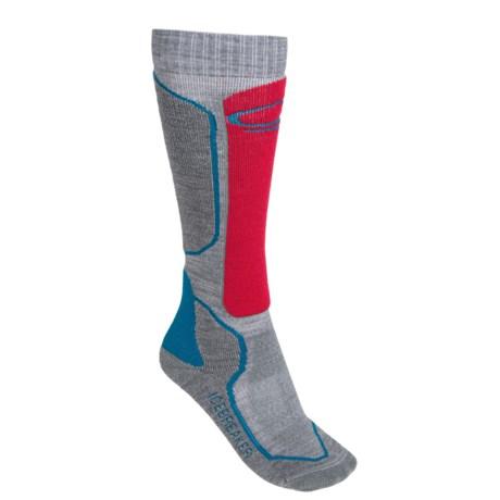 Icebreaker Ski + Mid Socks - Merino Wool, Over-the-Calf (For Women)