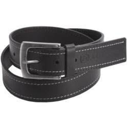 John Deere Contrast Stitch Belt - Leather (For Men)