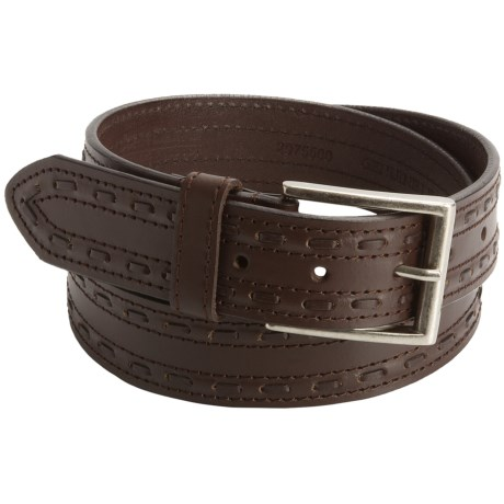 John Deere Stitch Belt - Leather (For Men)