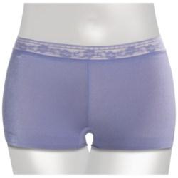 TC Intimates Edge Lace-Edge Underwear - Boyshort Briefs (For Women)