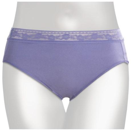 TC Intimates Edge Lace-Trim Underwear - Hi-Cut Briefs (For Women)