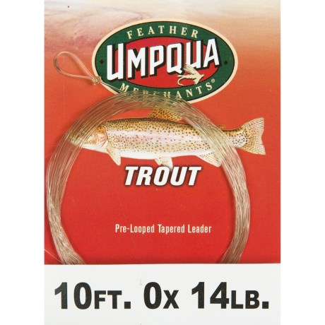 Umpqua Feather Merchants Trout Tapered Leader - 10'