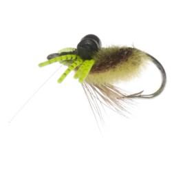 Fly H20 by Umpqua Feather Merchants Furry Crab Weedless Saltwater Fly - Dozen
