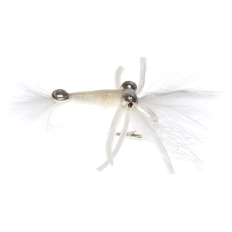 Fly H20 by Umpqua Bone Shrimp Rubber Legs Saltwater Fly - Dozen