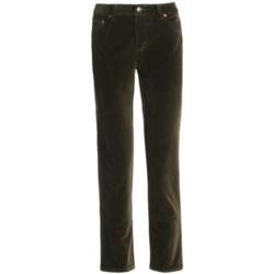 Specially made Stretch Velvet Jeans - 5-Pocket (For Women)