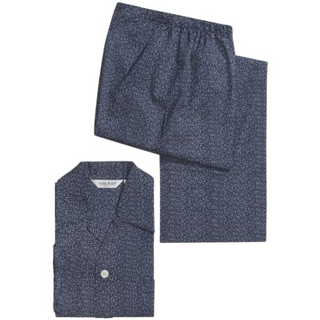Derek Rose Nelson Pajamas - Long Sleeve (For Men)