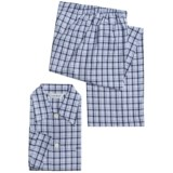 Derek Rose Braemar Pajamas - Cotton Flannel, Long Sleeve (For Men)