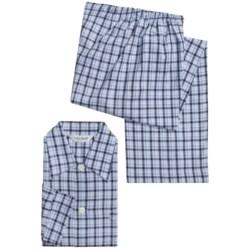 Derek Rose Braemar Pajamas - Cotton Flannel, Long Sleeve (For Men)
