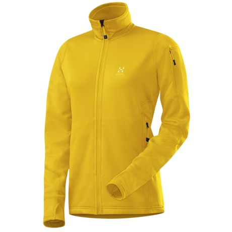 Haglofs Bungy Soft Shell Jacket - Polartec® Power Stretch® Pro (For Women)