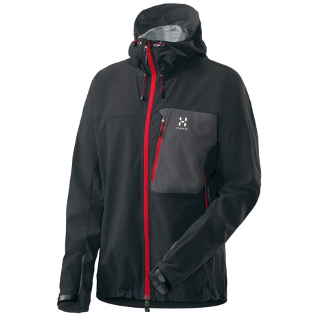 Haglofs Vig Hooded Jacket - Soft Shell (For Men)