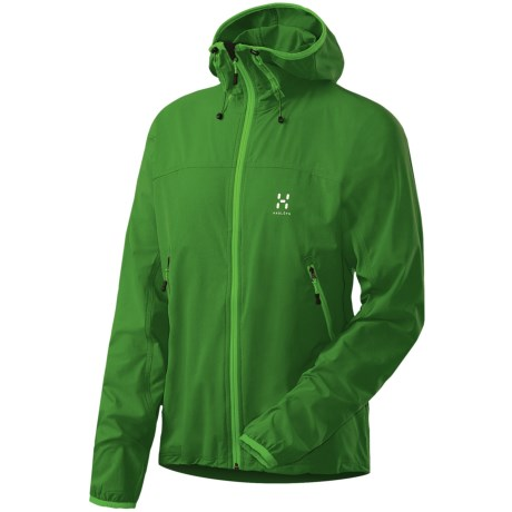 Haglofs Boa Hooded Soft Shell Jacket (For Men)