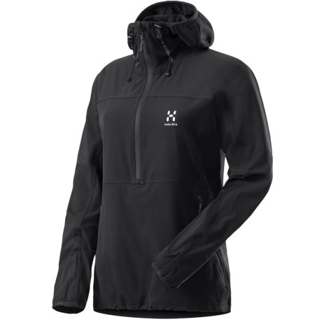 Haglofs Krait Soft Shell Jacket - Zip Neck (For Women)