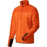 Haglofs Micro Polartec® Fleece Pullover - Zip Neck (For Men)