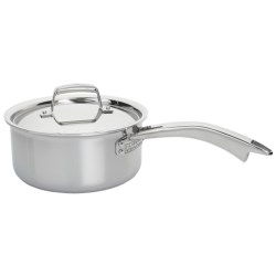 J.A. Henckels International Classic Clad Covered Saucepan - 3 qt., Stainless Steel