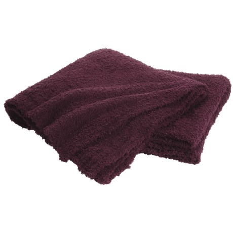 "Colorado Clothing Shaggy Chic Chenille Throw Blanket- 60x70"""
