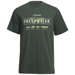 Sage Freshwater T-Shirt - Short Sleeve (For Men)