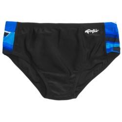 Dolfin Print Racer Brief Swimsuit (For Men)