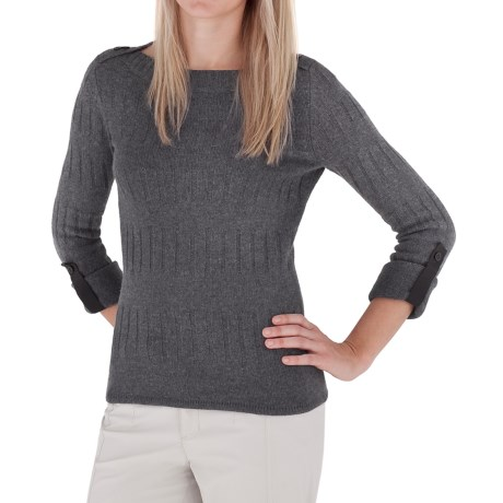 Royal Robbins Highland Pullover Sweater - Boat Neck (For Women)