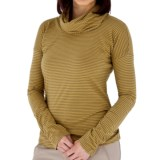 Royal Robbins Nellie Stripe Shirt - Organic Jersey, Cowl Neck, Long Sleeve (For Women)