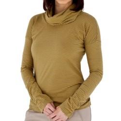 Royal Robbins Nellie Stripe Shirt - Organic Jersey, Cowl Neck, Long Sleeve (For Women)