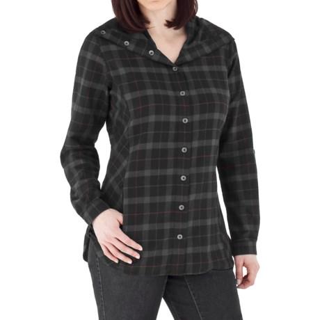 Royal Robbins Transit Plaid Tunic Shirt - Brushed Cotton, Long Sleeve (For Women)
