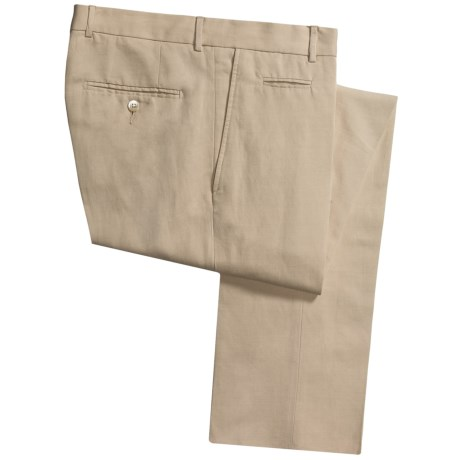 Scott James Isaac Khaki Pants - Cotton-Linen (For Men)