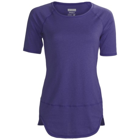 New Balance Tunic Shirt - Short Sleeve (For Women)